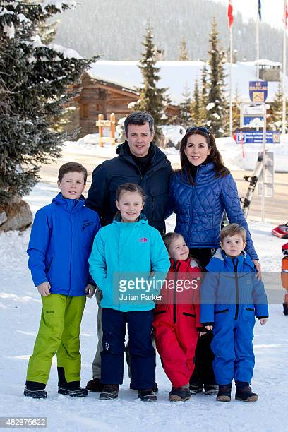Crown Prince Frederik of Denmark Crown Princess Mary of Denmark Prince Christian Princess Isabella Princess Josephine and Prince Vincent of Denmark...