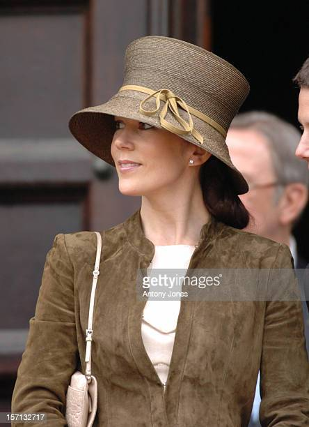 Crown Prince Frederik Of Denmark Mary Donaldson Attend A Reception At The Copenhagen City Hall