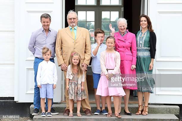 Crown Prince Frederik of Denmark, Prince Vincent of Denmark, Prince Henrik of Denmark, Princess Josephine of Denmark, Prince Christian of Denmark,...