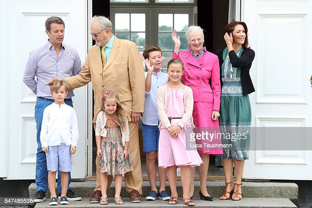 Crown Prince Frederik of Denmark Prince Vincent of Denmark Prince Henrik of Denmark Princess Josephine of Denmark Prince Christian of Denmark...