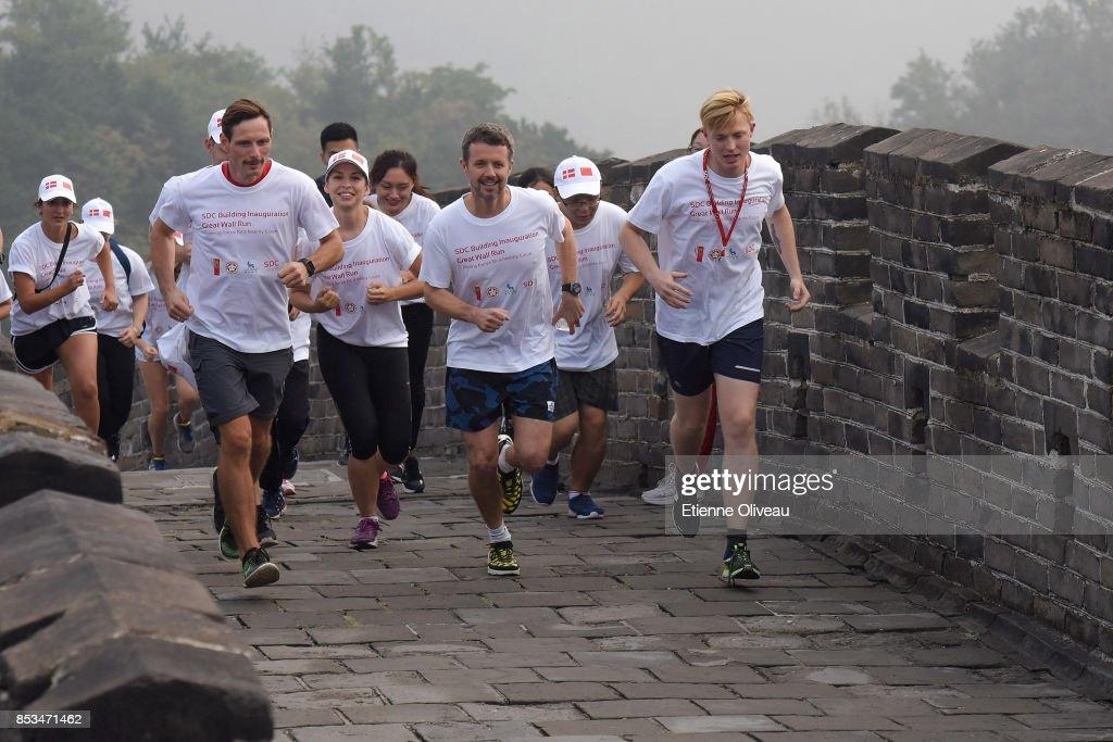 Danish Crown Prince Frederik Visits China - Day 3 : News Photo