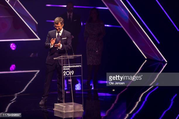 Crown Prince Frederik of Denmark seen during the Crown Prince Culture Ward Show on November 2, 2019 in Odense, Denmark. The Crown Prince Couples...