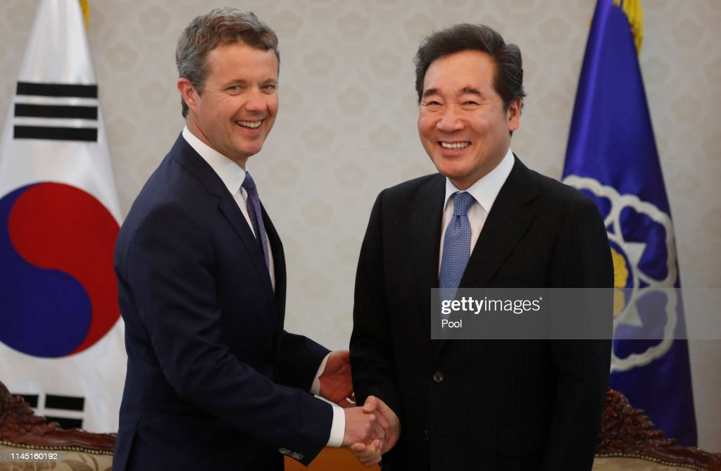 KOR: Crown Prince and Princess of Denmark Visit South Korea - Day 1