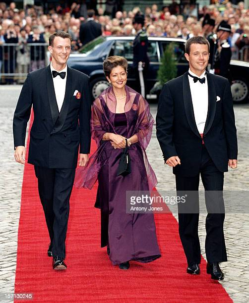 Crown Prince Frederik Prince Joachim Princess Alexandra Of Denmark Attend King Harald Queen Sonja'S 60Th Birthday Celebrations In NorwayGala Dinner...