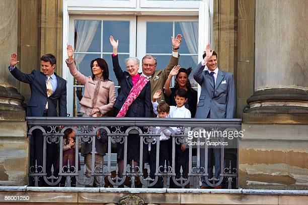 Crown Prince Frederik Princess Isabella Prince Christian Crown Princess Mary Queen Margrethe Prince Henrik Prince Felix Prince Nikolai Princess Marie...