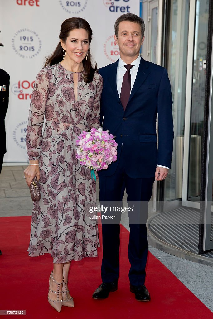 The Danish Royal Family Participate In Parliament And Government's Celebration Of The 100th Anniversary Of The 1915 Constitution : News Photo