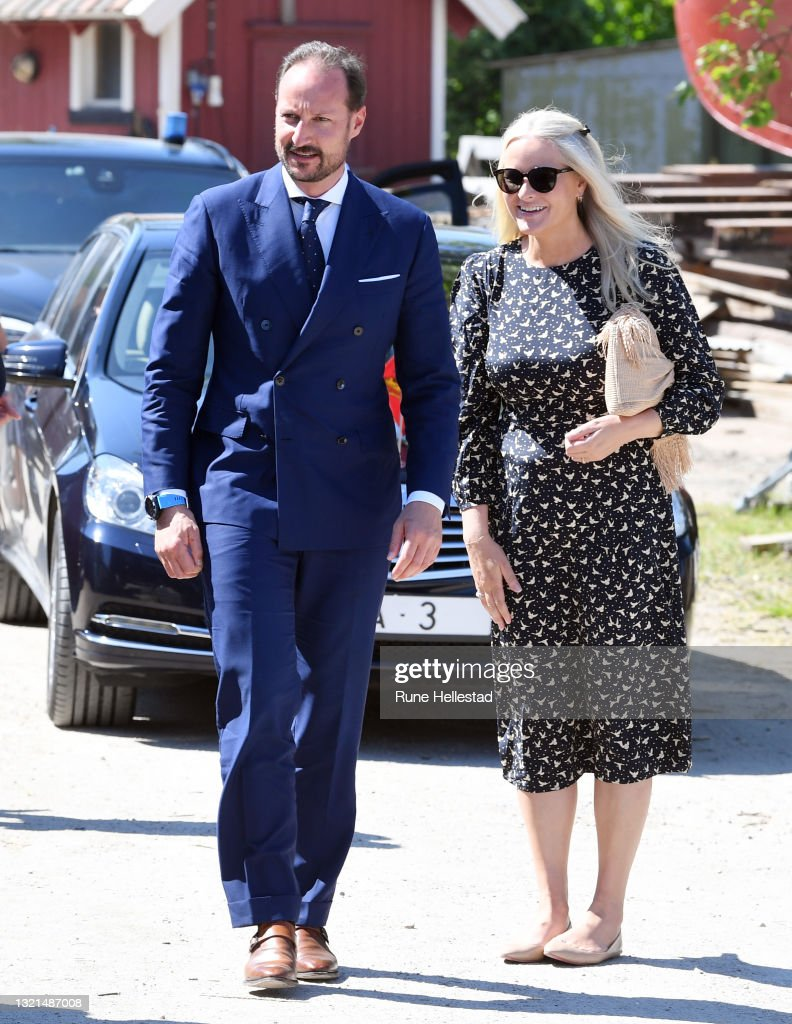 Crown Prince Haakon Visits Fredrikstad On The Occasion Of The 250th Anniversary Of Hans Nielsen Hauge's Birth : News Photo