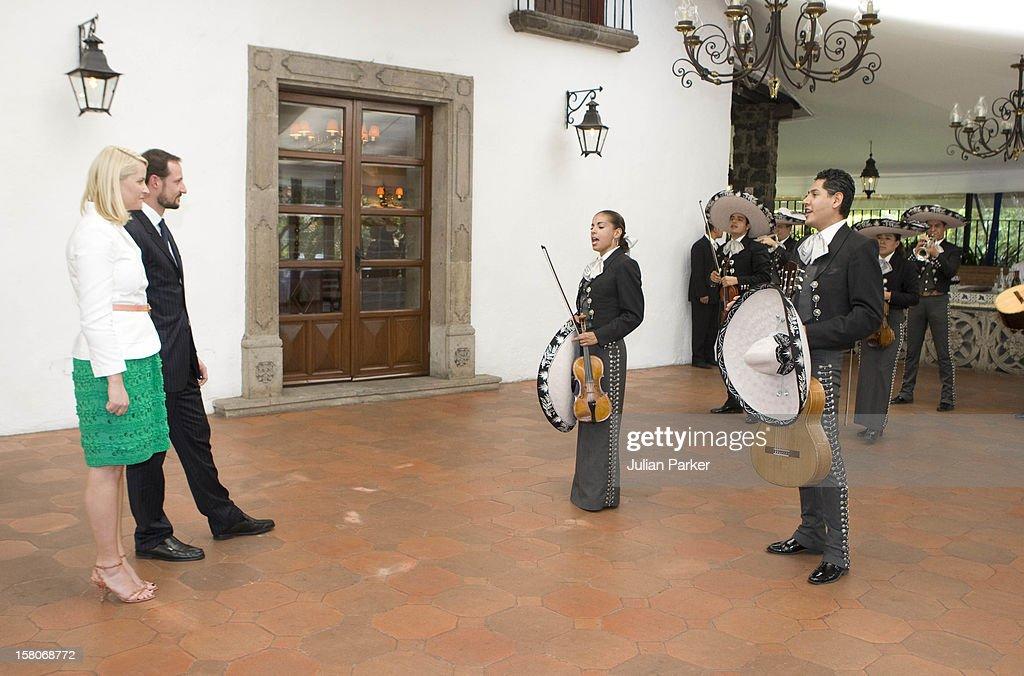 Norway Official Visit - Mexico : Fotografía de noticias
