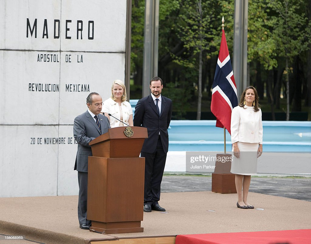 Norway Official Visit - Mexico : Fotografía de noticias