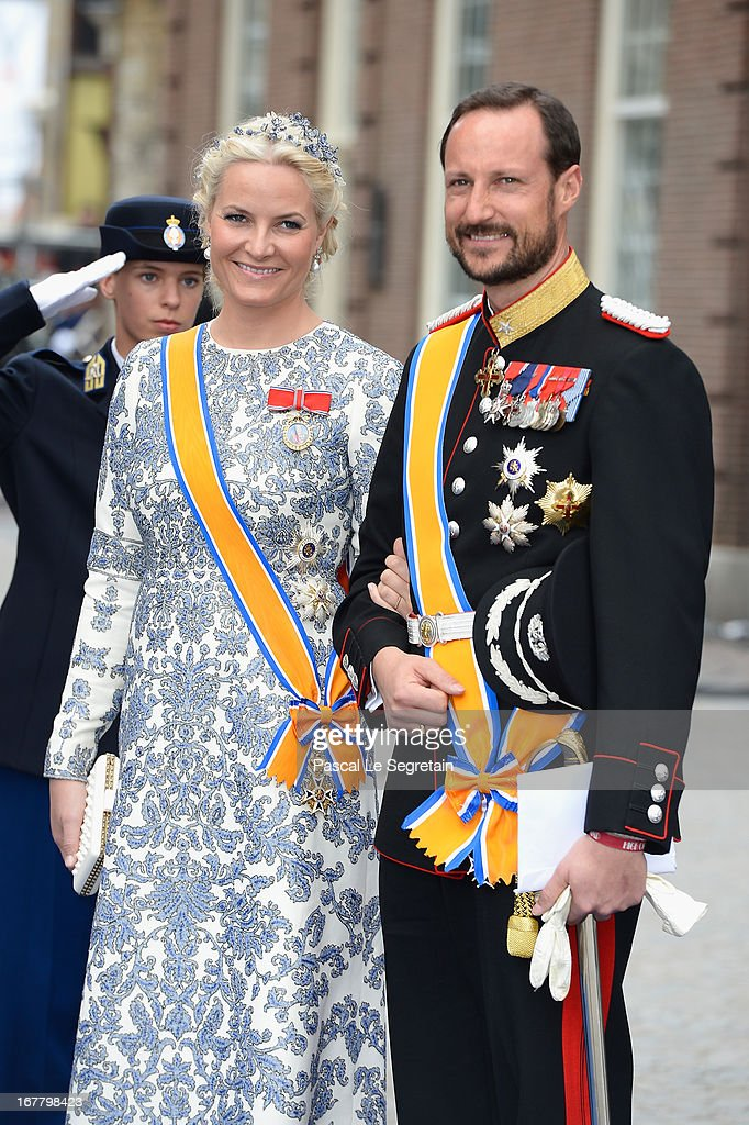 Inauguration Of King Willem Alexander As Queen Beatrix Of The Netherlands Abdicates