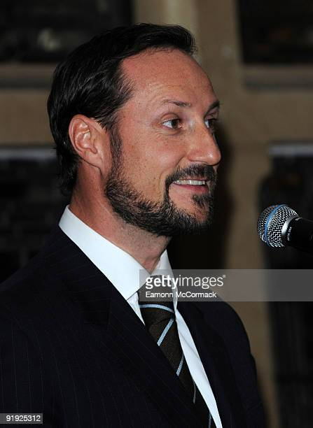 Crown Prince Haakon Magnus of Norway attends The Nordland Music Festival on October 15, 2009 in London, England.