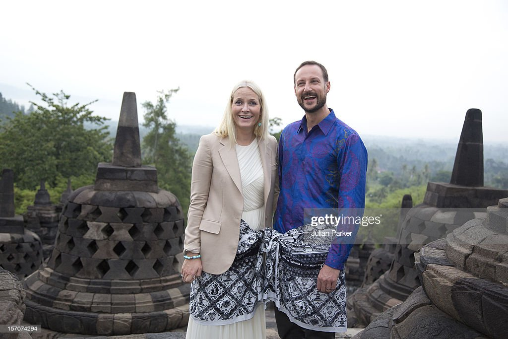 Norway's Crown Prince & Princess Visit Indonesia - Day Three