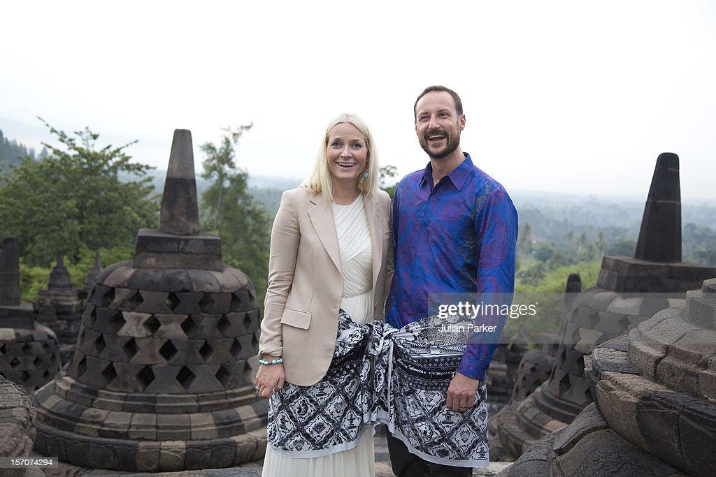 Norway's Crown Prince & Princess Visit Indonesia - Day Three