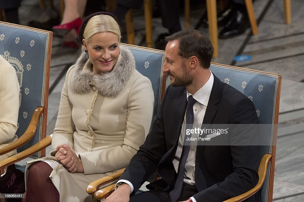 The Nobel Peace Prize Ceremony - Oslo : News Photo