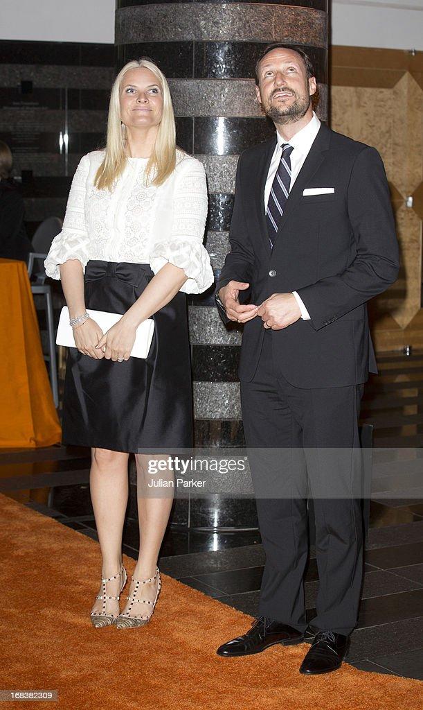 Crown Prince & Princess Of Norway Visit USA - Day Four : News Photo