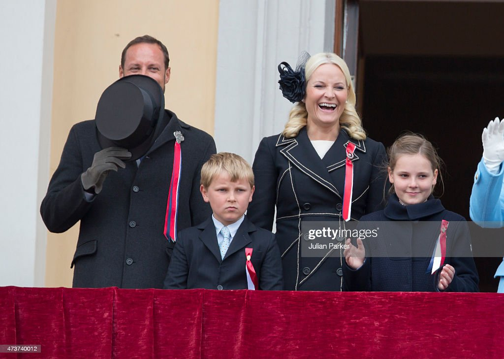 Norwegian Royals Celebrate National Day : News Photo