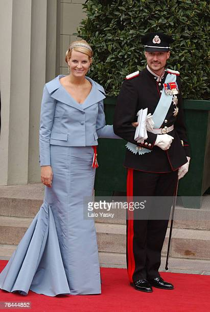 Crown Prince Haakon of Norway and Princess Mette Marrit