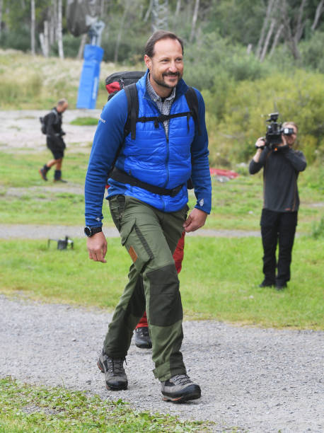 NOR: Prince Hakoon Of Norway Starts Refugee Route