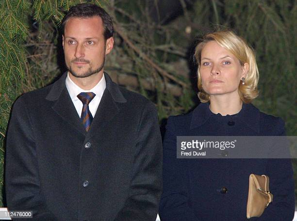 Crown Prince Haakon of Norway with his wife MetteMarit