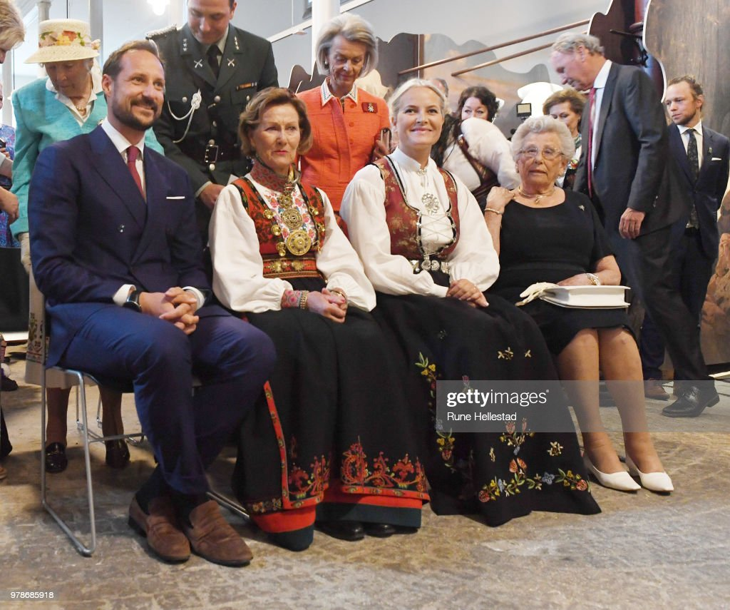 Norwegian Royals Attend 'Tradition And Inspiration. National Heritage In The Royal Collections'