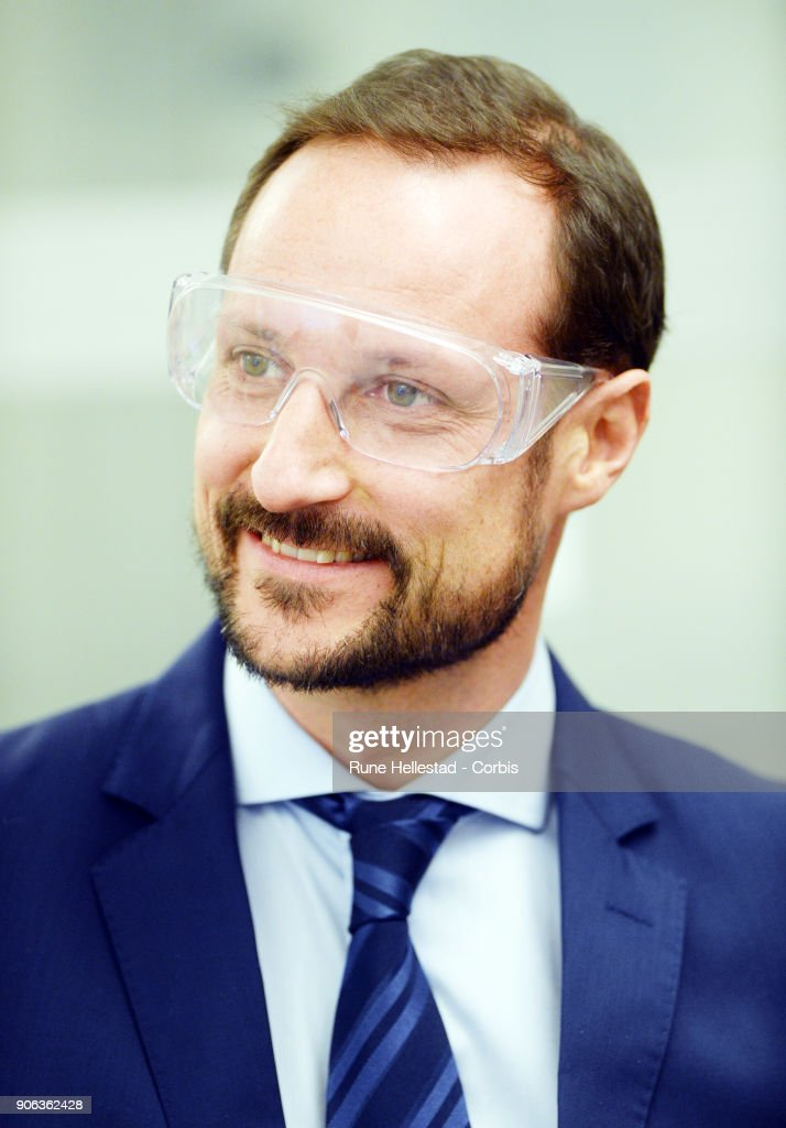 Crown Prince Haakon's visit to Borregaard