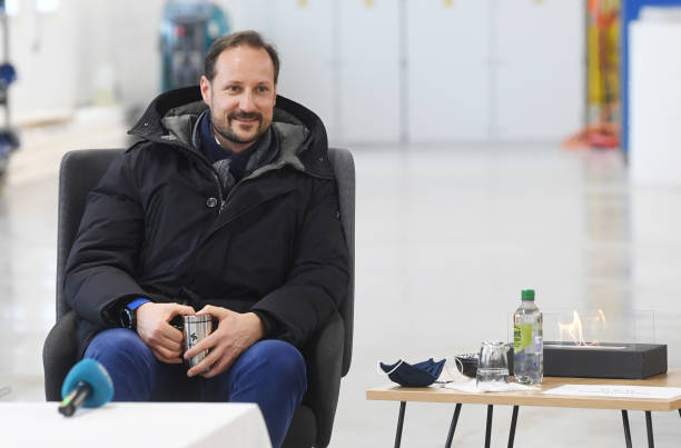 NOR: Crown Prince Haakon of Norway Visits Oslo Public Transport Service