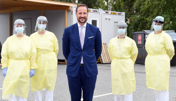 NOR: The Crown Prince Hakoon of Norway Visits Ostfold