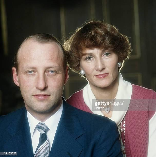 Crown Prince Harald and Princess Sonja of Norway Oslo Norway 29th November 1978