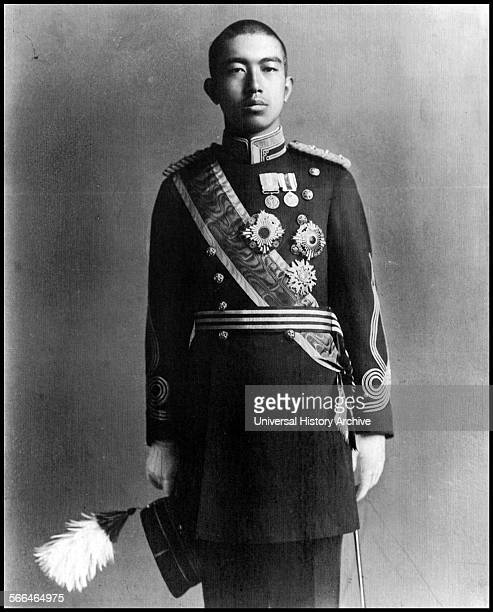 Crown Prince Hirohito of Japan in 1922