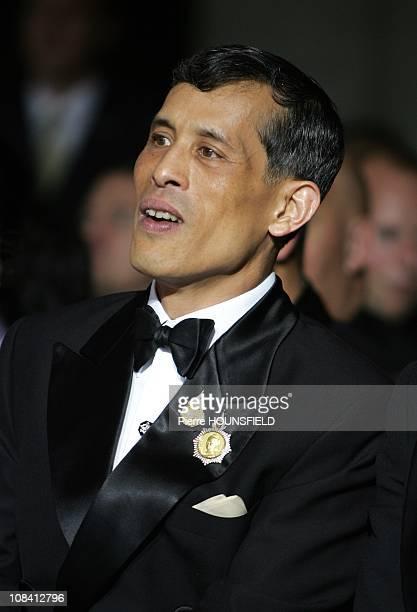Crown Prince Maha Vajiralongkorn in Paris France on September 29 2007