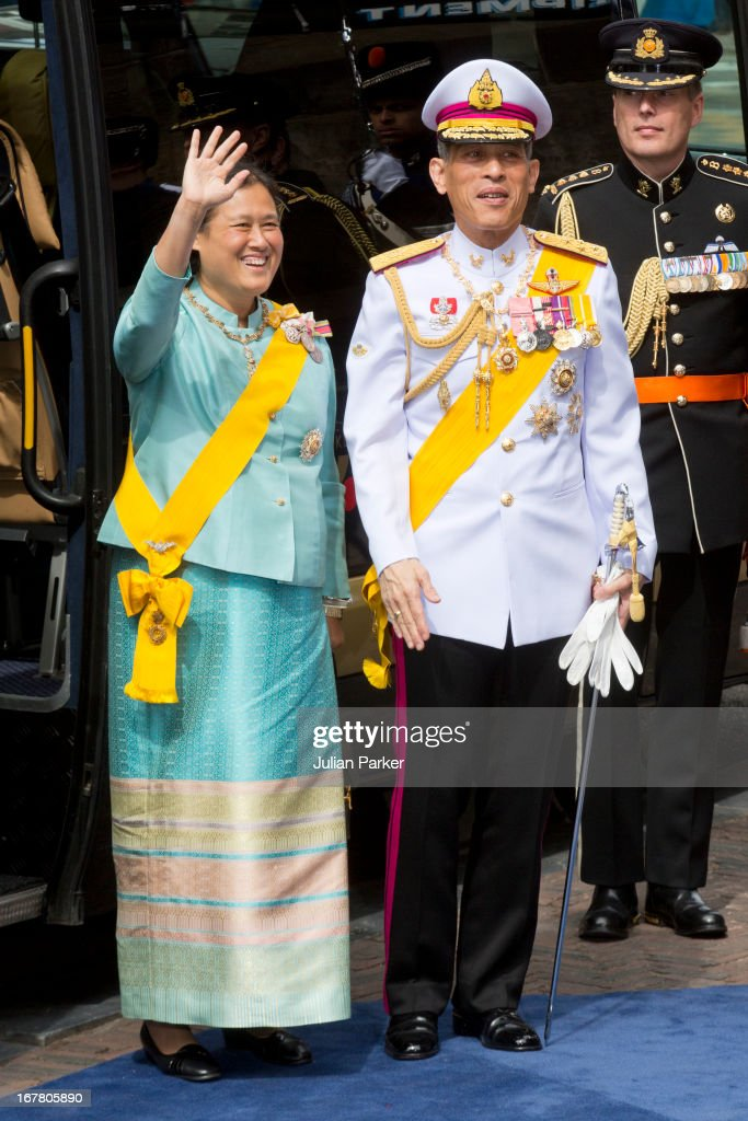 The Inauguration Of King Willem Alexander As Queen Beatrix Of The Netherlands Abdicates