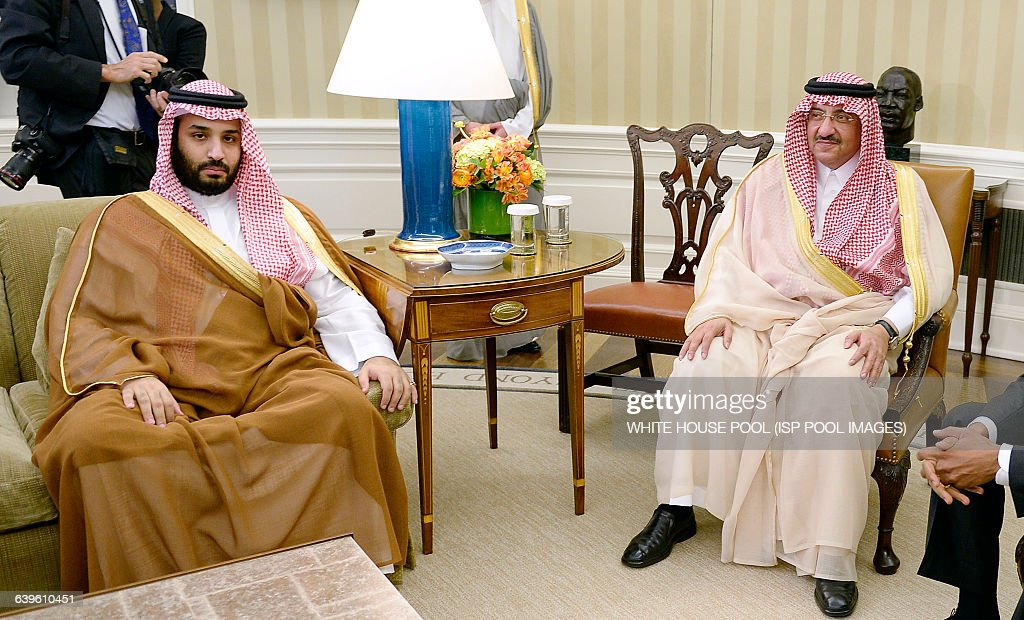 President Obama meets wih Crown Prince of Saudi Arabia- DC : News Photo