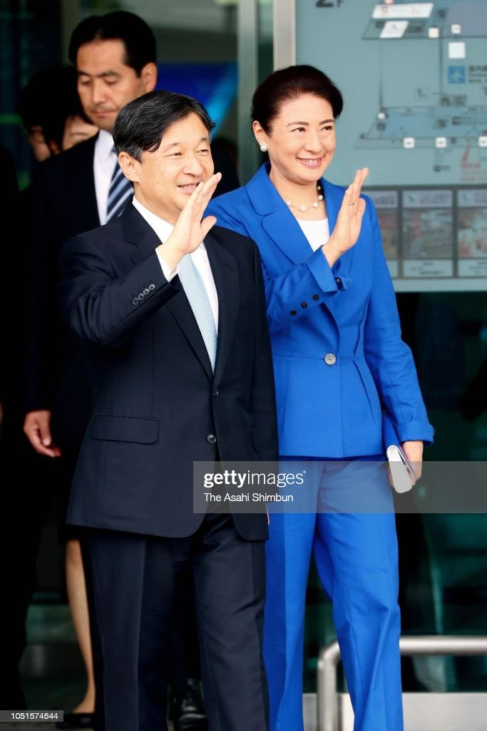Crown Prince And Princess Visit Oita - Day 1 : Nyhetsfoto