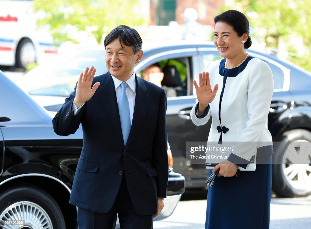 Crown Prince And Princess Visit Shiga - Day 2