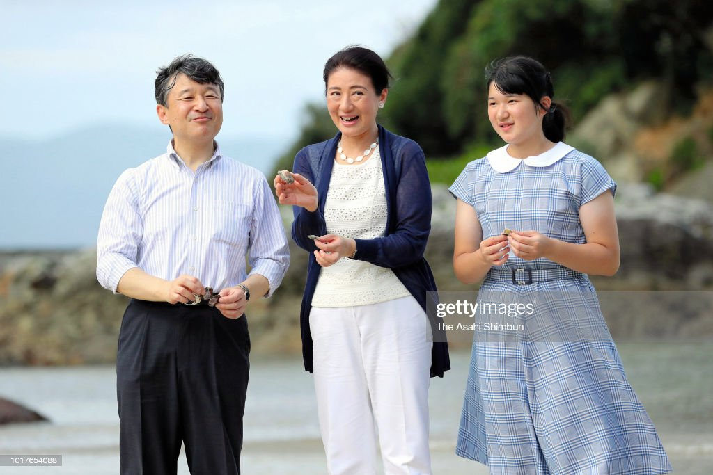 Crown Prince Family Visits Suzaki Imperial Villa