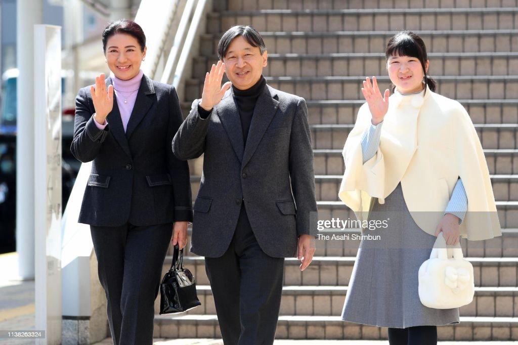 JPN: Crown Prince Family Visits Nagano