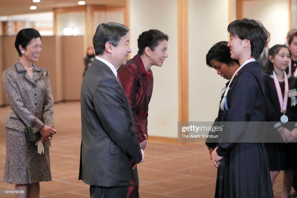 crown-prince-naruhito-crown-princess-masako-and-princess-hisako-of-picture-id1075270726