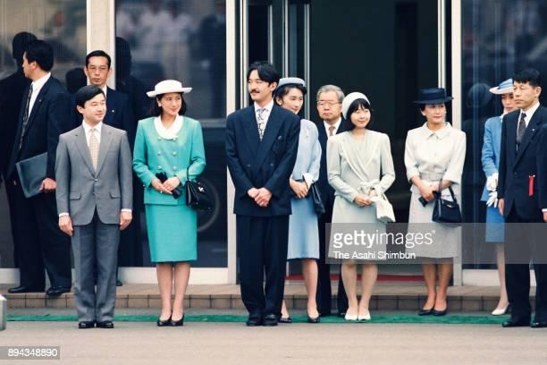 Crown Prince Naruhito Crown Princess Masako Prince Akishino Princess Kiko of Akishino Princess Sayako Prince Hitachi Princess Hanako of Hitachi...