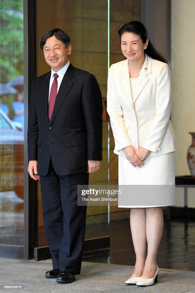 Crown Prince Naruhito Returns From Denmark