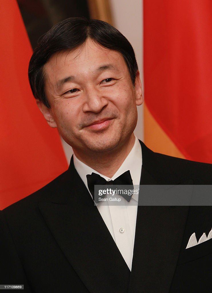 H. Crown Prince Naruhito of Japan attends a dinner given in his honour by German President Christian Wulff at Bellevue Palace on June 22, 2011 in Berlin, Germany. Crown Prince Naruhito is on a three-day visit to Germany.