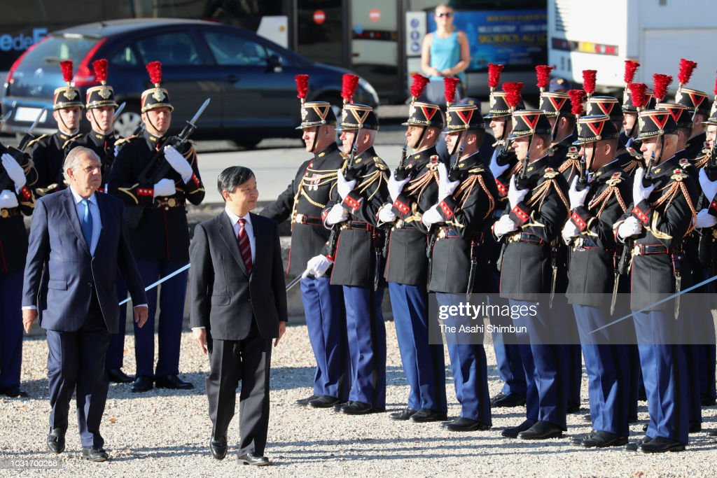 Crown Prince Naruhito Visits France - Day 5