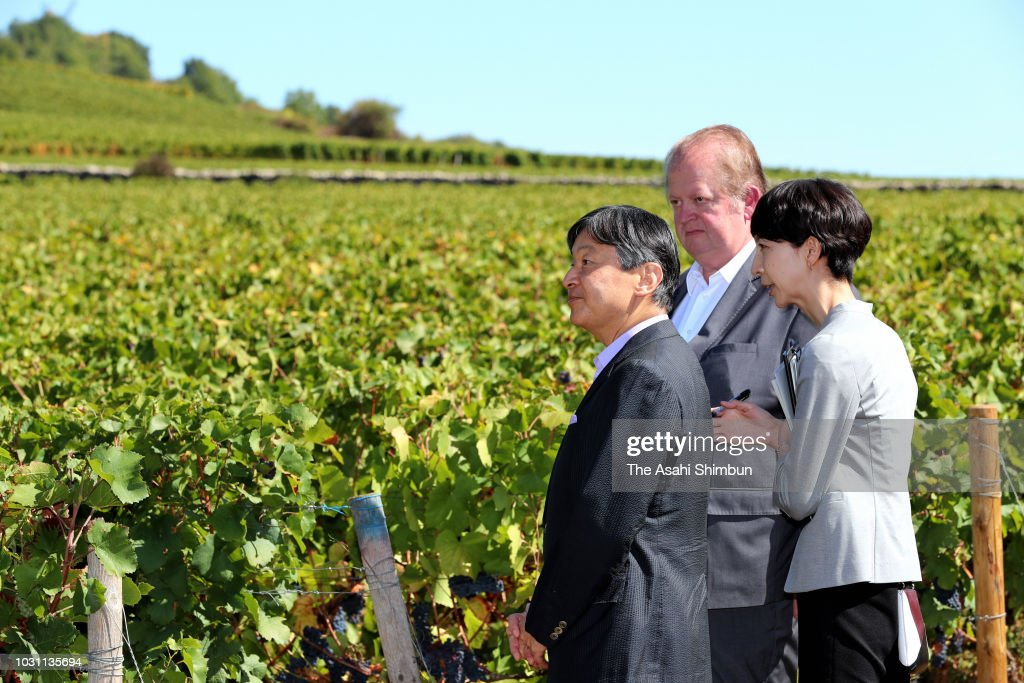 Crown Prince Naruhito Visits France - Day 3