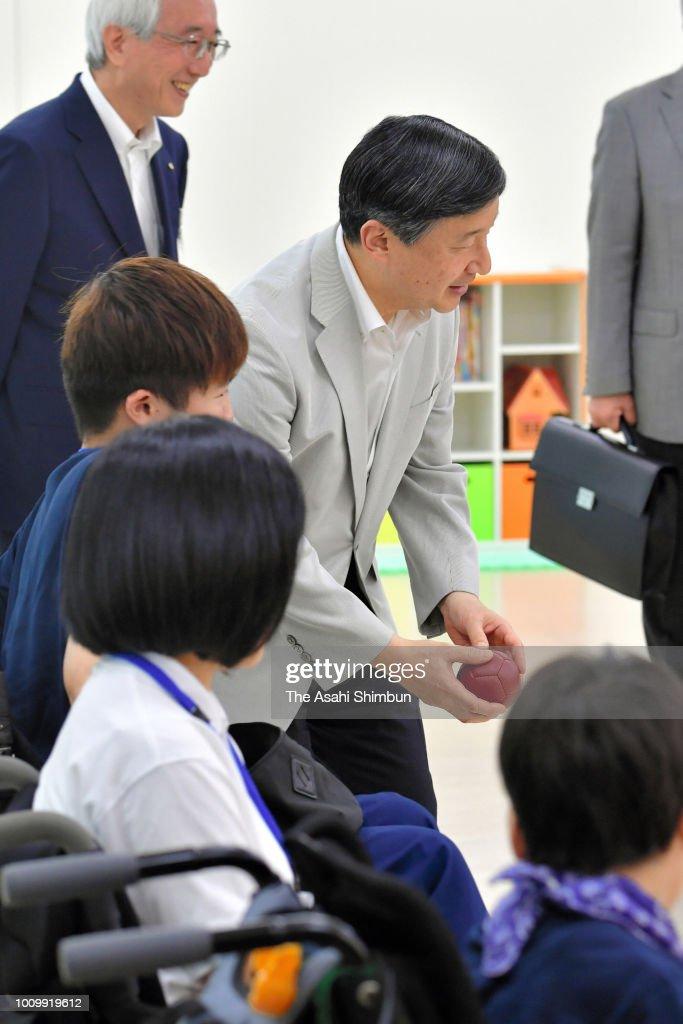 Crown Prince Naruhito Visits Mie - Day 3