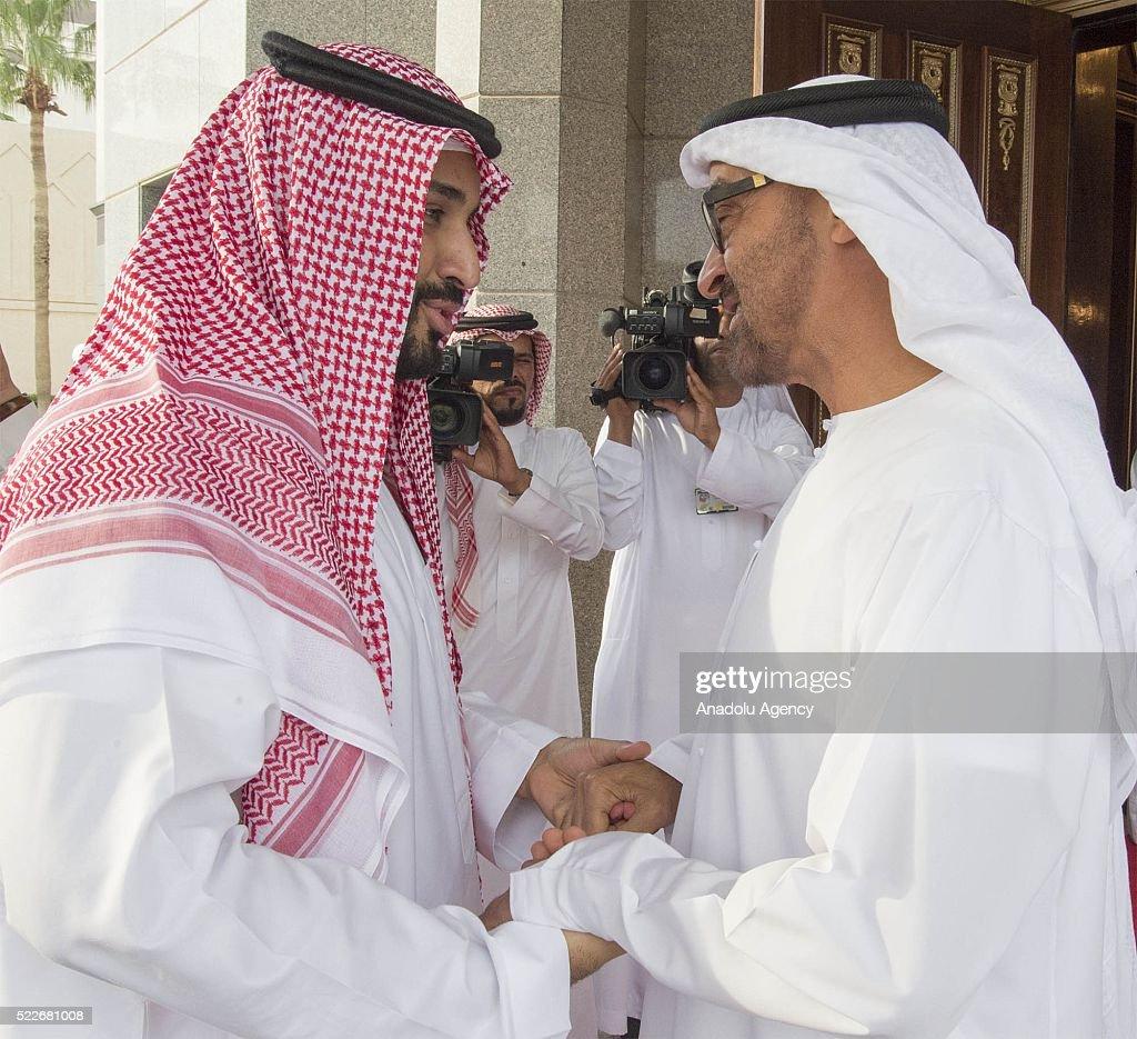 Mohammed bin Zayed Al Nahyan - Mohammed bin Salman : News Photo