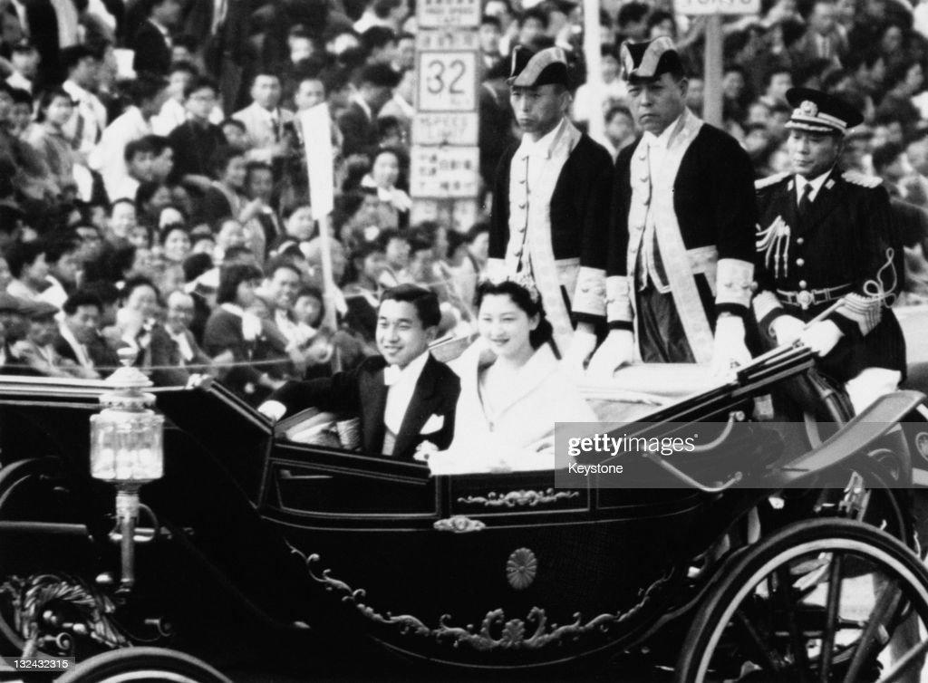 Akihito And Michiko Wed : News Photo