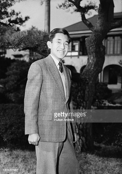 Crown Prince of Japan Akihito circa 1955