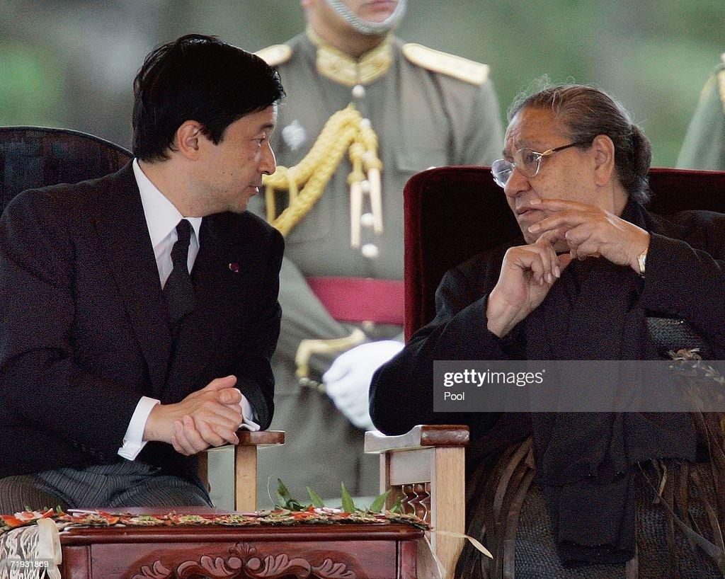 State Funeral For King Taufaahau IV Of Tonga : News Photo