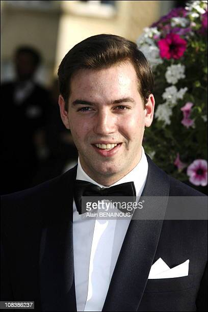 Crown Prince of Luxembourg Guillaume the son of the Grand Duke The festivities marking the 25th wedding anniversary of Grand Duke Henri and Grand...
