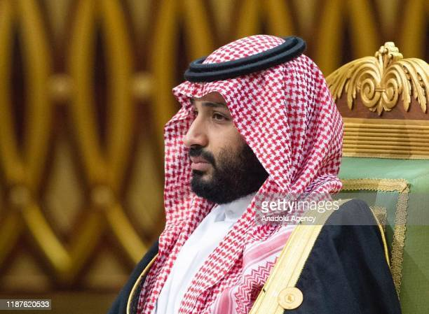Crown Prince of Saudi Arabia Mohammad bin Salman attends the 40th Gulf Cooperation Council annual summit in Riyadh, Saudi Arabia on December 10, 2019.