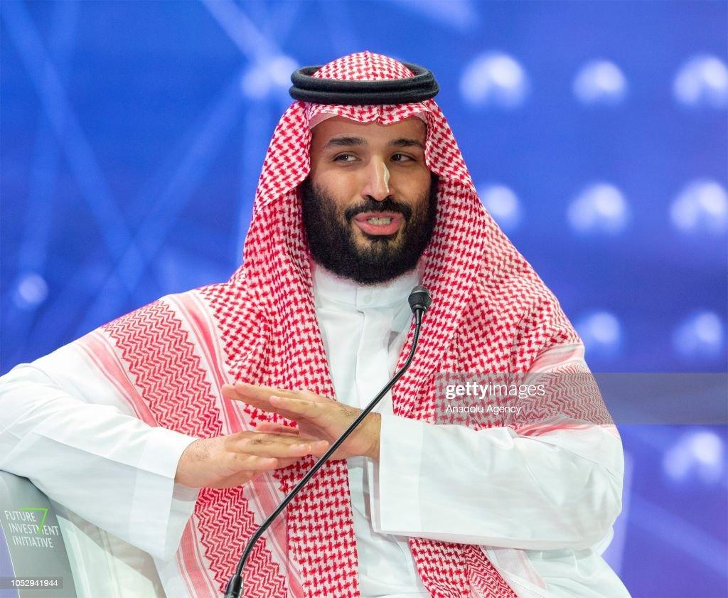 Crown Prince of Saudi Arabia Mohammad bin Salman  : News Photo